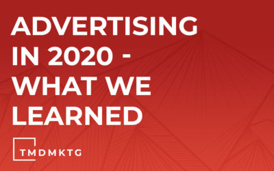 Advertising in 2020 – What We Learned