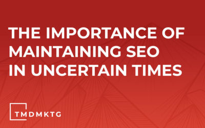 The Importance of Maintaining SEO In Uncertain Times